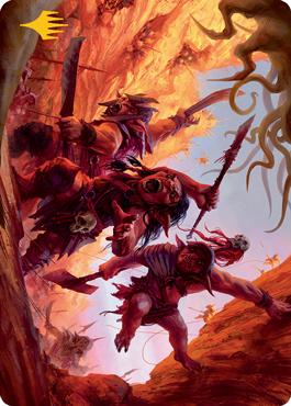 Goblin Art Card 24/81