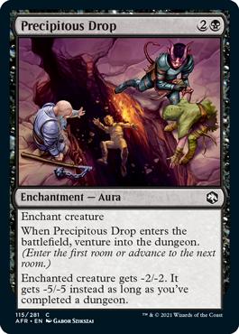Precipitous Drop