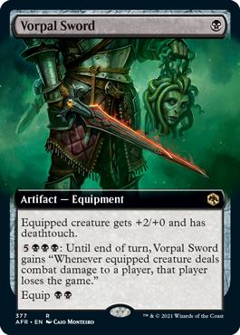 Extended-art Vorpal Sword