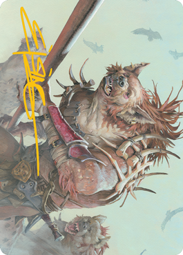 Gnoll Art Card 11/81