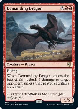 Demanding Dragon