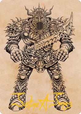 Iron Golem Art Card 80/81