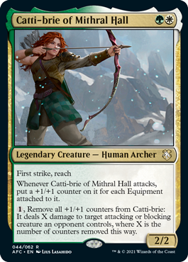 Catti-Brie of Mithral Hall