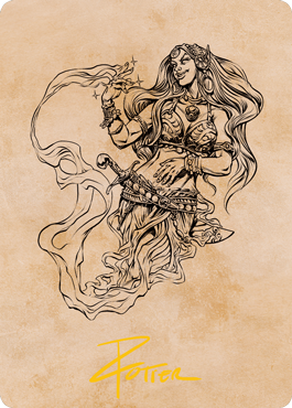 Djinni Windseer Art Card 74/81