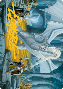 Cave of the Frost Dragon Art Card 46/81