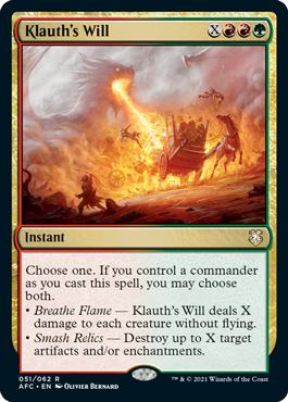Klauth's Will