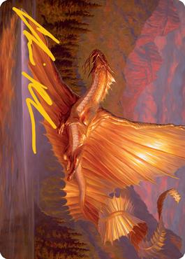 Adult Gold Dragon Art Card 58/81