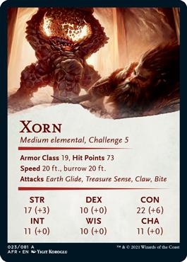 Xorn Stat Card 23/81