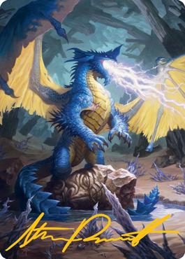 Blue Dragon Art Card 73/81