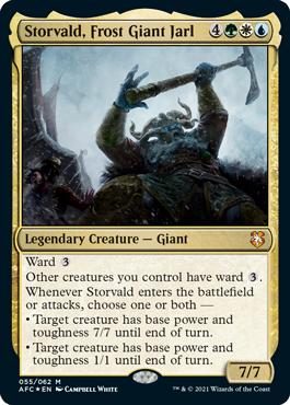 Storvald, Frost Giant Jarl