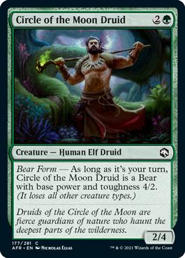 Circle of the Moon Druid