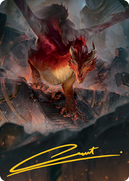 Red Dragon Art Card 81/81