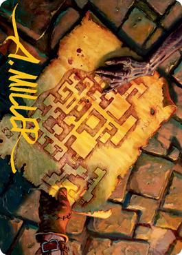 Dungeon Map Art Card 57/81