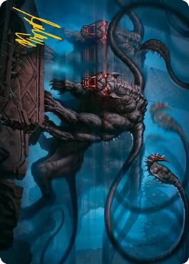 Displacer Beast Art Card 8/81