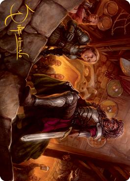 Veteran Dungeoneer Art Card 36/81
