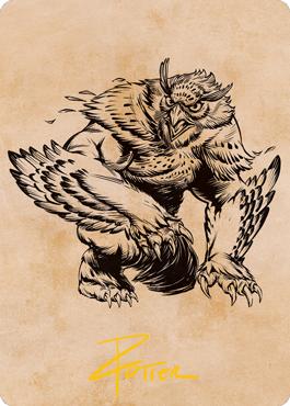 Owlbear Art Card 76/81