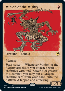 Minion of the Mighty