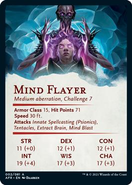 Mind Flayer Stat Card 2/81