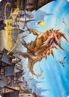 Tarrasque Art Card 19/81