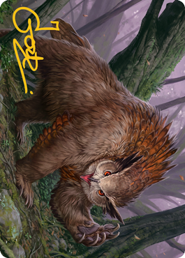 Owlbear Art Card 15/81