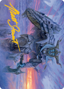 Frost Giant Art Card 5/81