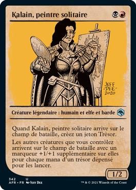 Kalain, peintre solitaire