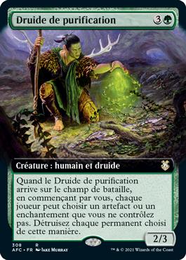 Druide de purification