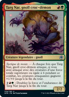 Targ Nar, gnoll croc-démon