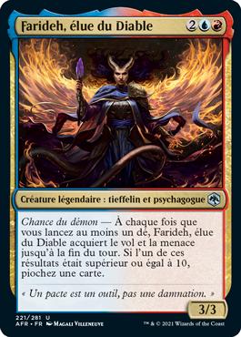 Farideh, élue du Diable