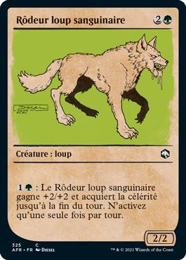 Rôdeur loup sanguinaire