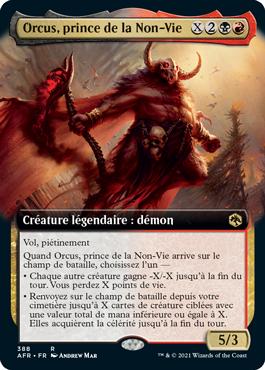 Orcus, prince de la Non-Vie