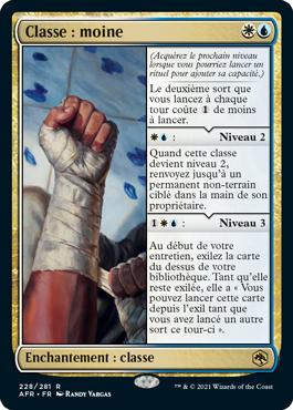Classe: moine