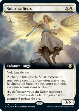Solar radieux