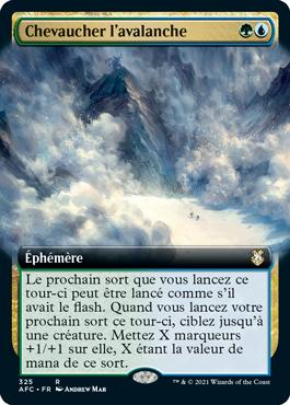 Chevaucher l'avalanche