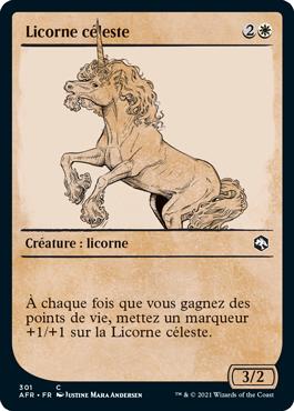 Licorne céleste