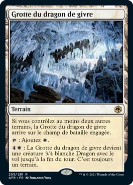 Grotte du dragon de givre