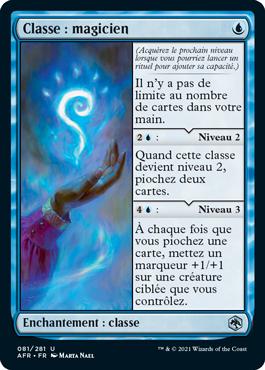 Classe: magicien
