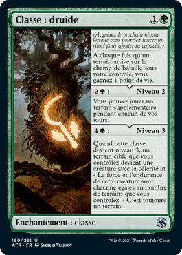 Classe: druide