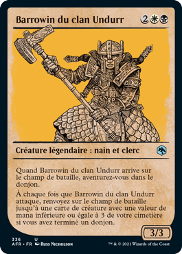 Barrowin du clan Undurr