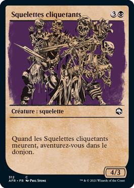 Squelettes cliquetants