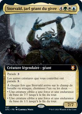 Storvald, jarl géant du givre
