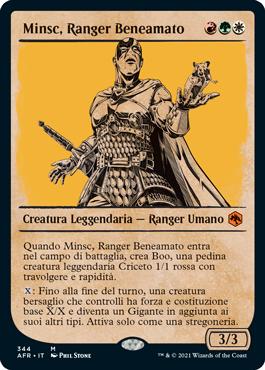 Minsc, Ranger Beneamato
