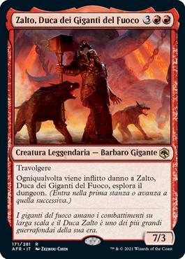 Zalto, Duca dei Giganti del Fuoco
