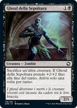 Ghoul della Sepoltura