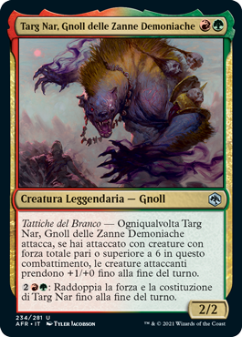 Targ Nar, Gnoll delle Zanne Demoniache