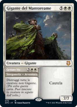 Gigante del Mantoreame