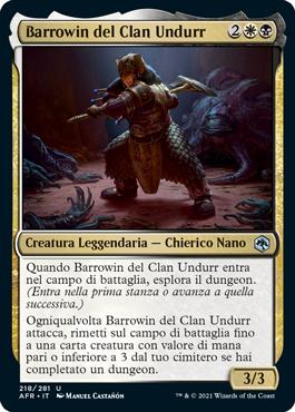 Barrowin del Clan Undurr