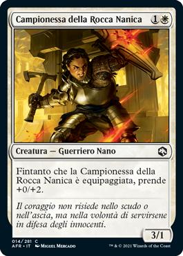 Campionessa della Rocca Nanica