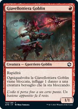 Giavellottiera Goblin