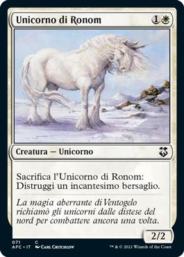 Unicorno di Ronom